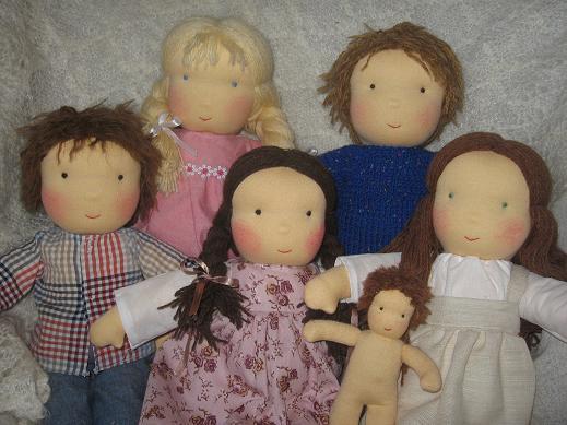 Образ для куклы своими руками